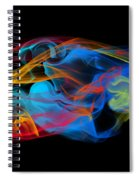 Fire And Ice Smoke  Spiral Notebook