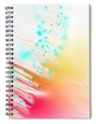 Fire And Light Spiral Notebook