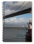 Fire Boat #2 Spiral Notebook