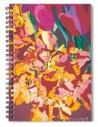 Fire Bouquet Spiral Notebook