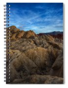 Fire Canyon Twilight Spiral Notebook