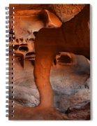Fire Cave Windstone Arch Nevada Spiral Notebook