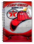 Fire Chief Gasoline Globe Spiral Notebook