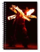 Fire Dancer 1 Spiral Notebook