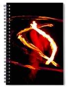 Fire Dancer 2 Spiral Notebook