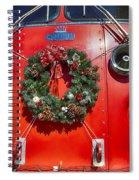 Fire Department Christmas 1 Spiral Notebook