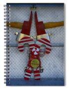 Fire Department Christmas 3 Spiral Notebook