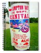 Fire Dept. Carnival Spiral Notebook