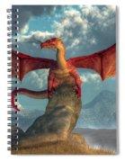 Fire Dragon Spiral Notebook