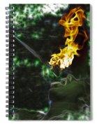 Fire Eater Spiral Notebook