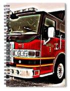Fire Engine Red Spiral Notebook