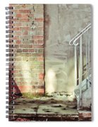 Fire Escape Stairs Spiral Notebook