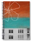 Fire Escapes Spiral Notebook