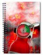 Fire Extinguisher  Spiral Notebook