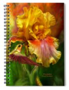 Fire Goddess Spiral Notebook
