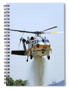 Fire Hawk Water Drop Spiral Notebook