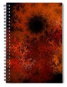 Fire Hole Spiral Notebook