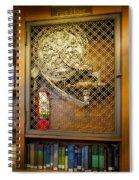 Fire Hose Spiral Notebook