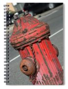Fire Hydrant Spiral Notebook