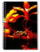Fire In Bloom Spiral Notebook