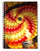 Fire In The Belly Spiral Notebook