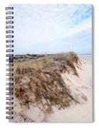 Fire Island Landscape Spiral Notebook