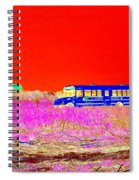 Fire Island Life Spiral Notebook