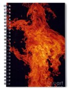 Fire Man Spiral Notebook
