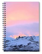 Fire On The Mountain Spiral Notebook