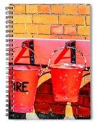 Fire Safety Spiral Notebook