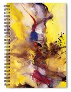 Fire Smoke And Brimstone II Spiral Notebook