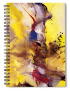 Fire Smoke And Brimstone II Spiral Notebook