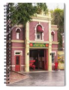 Fire Station Main Street Disneyland 02 Spiral Notebook