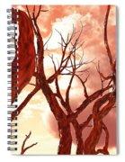 Fire Trees Spiral Notebook