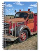 Fire Truck International Harvester C. 1946 Spiral Notebook