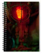 Fire Warning Spiral Notebook