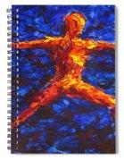Fire Warrior Spiral Notebook