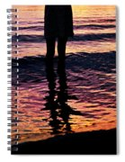 Fire Water Spiral Notebook