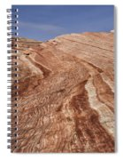 Fire Wave - Valley Of Fire Spiral Notebook