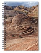 Fire Wave Spiral Notebook
