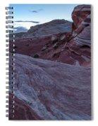 Fire Wave II Spiral Notebook