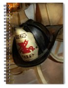 Firefighter - Somewhere To Hang Hat  Spiral Notebook
