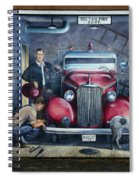 Firehall Mural Sultan Washington 1 Spiral Notebook