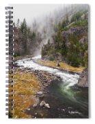 Firehole Canyon - Yellowstone Spiral Notebook