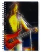 Firehouse-ga10a-fractal Spiral Notebook