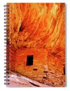 Firehouse Ruins Spiral Notebook