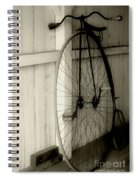 Firehouse Velocipede Spiral Notebook