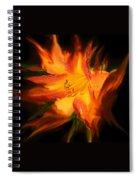 Firelily Spiral Notebook