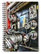 Fireman - Control Panel Spiral Notebook