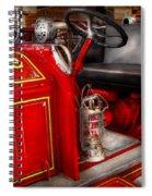Fireman - Fire Engine No 3 Spiral Notebook
